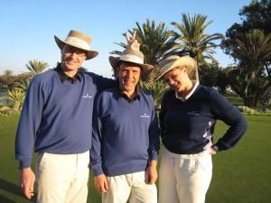2007 Agadir, Marokko, Vicente, Jes og Mette
